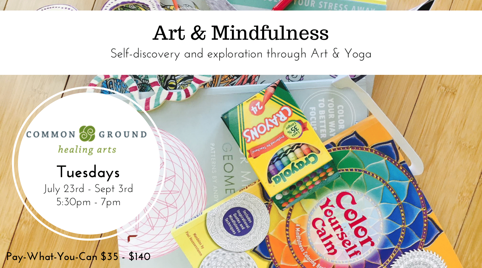 art and mindfulness yoga