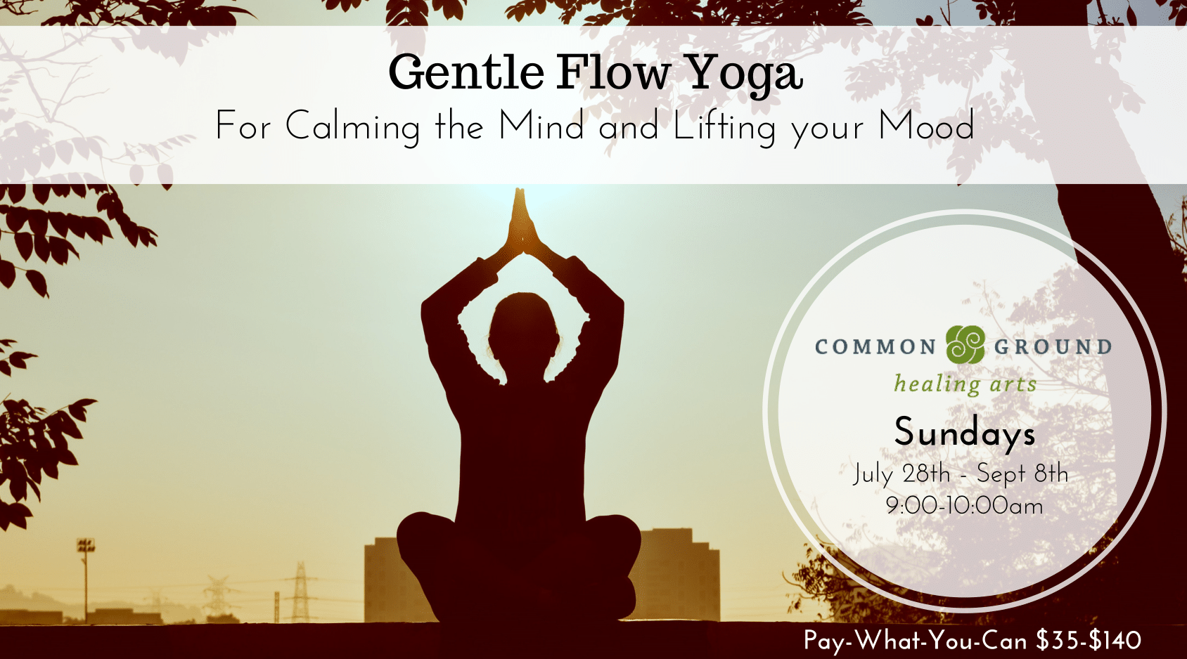 gentle beginner yoga